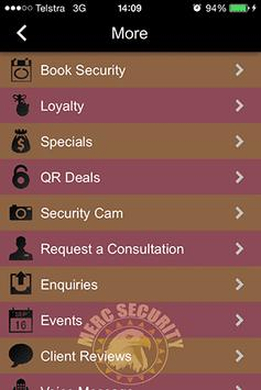 Merc Security apk screenshot