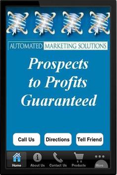 Automated Marketing Solutions poster
