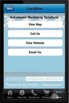 Automated Marketing Solutions apk screenshot