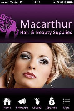 Macarthur Hair & Beauty Supply poster
