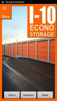 Econo I-10 Self Storage apk screenshot