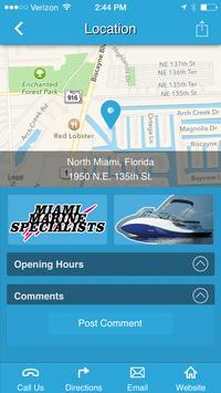 Miami Marine Specialists apk screenshot