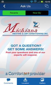 Michiana Heating & AC apk screenshot