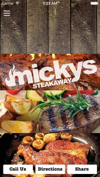 Micky's Steakaway poster