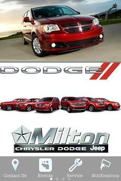 Milton Chrysler poster