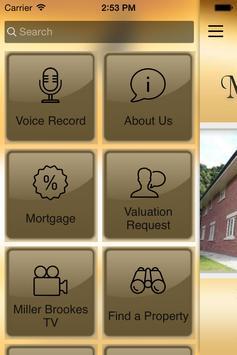 Miller Brookes Estate Agents apk screenshot
