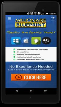 Binary Millionaire Blueprint apk screenshot