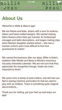 Millie & Beau apk screenshot