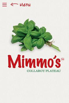 Mimmo's Pizza Express poster