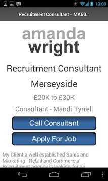 Amanda Wright Recruitment apk screenshot