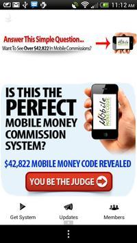 Mobile Money Code poster