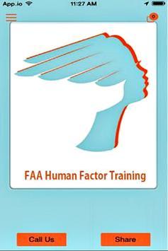 FAA Human Factor Training apk screenshot