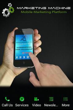 Marketing Machine Mobile poster
