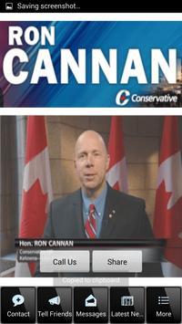 MP Ron Cannan apk screenshot