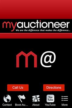 My Auctioneer poster