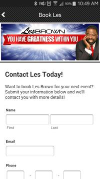 OFFICIAL Les Brown App apk screenshot