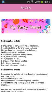My Party Friend apk screenshot