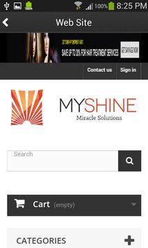 My Shine apk screenshot