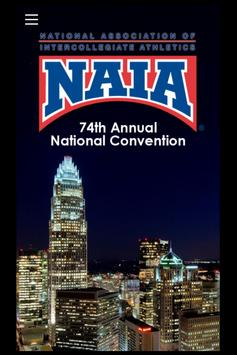 NAIA Convention poster