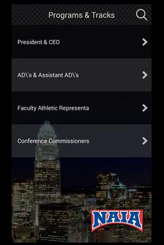 NAIA Convention apk screenshot