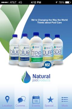 Natural Pool Products poster