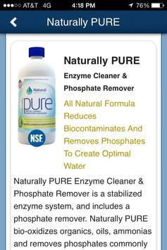 Natural Pool Products apk screenshot