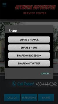 Network Automotive Service Ctr apk screenshot