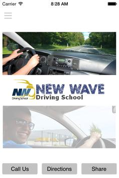 New Wave Driving School poster