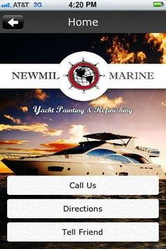 Newmil Marine poster