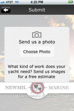 Newmil Marine apk screenshot