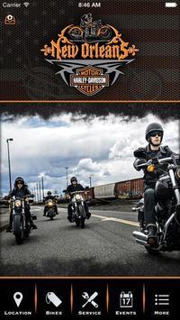 New Orleans Harley-Davidson poster