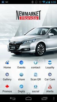 Newmarket Honda poster