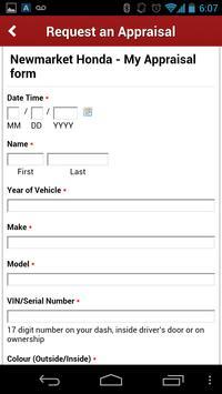 Newmarket Honda apk screenshot