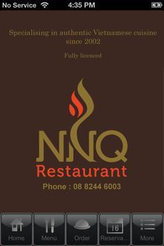 NNQ Restaurant poster