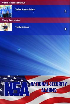 National Security Alarms apk screenshot