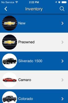 NSB Chevrolet apk screenshot