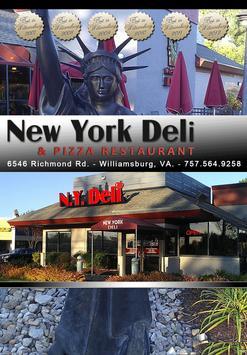 NY Deli & Pizza Restaurant poster