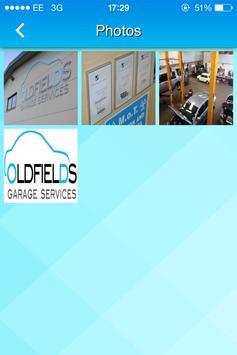 Oldfield Garage Services Ltd apk screenshot