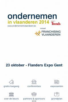 Ondernemen in Vlaanderen poster
