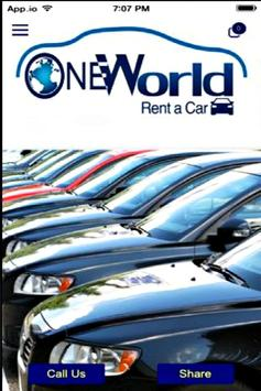 One World Rent A Car poster