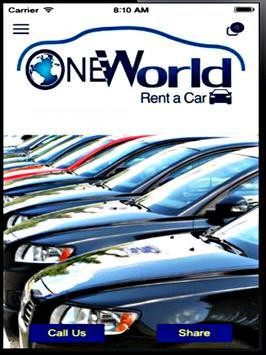 One World Rent A Car apk screenshot