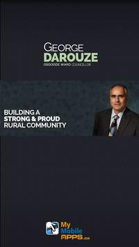 George Darouze - Osgoode Ward poster