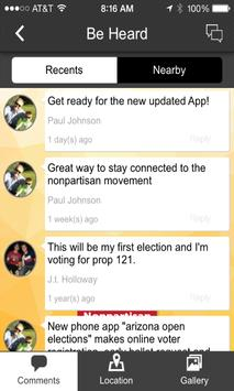 Arizona Nonpartisan Movement apk screenshot