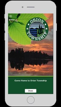 Orion Township poster