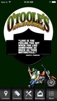 O'Toole's Harley-Davidson poster
