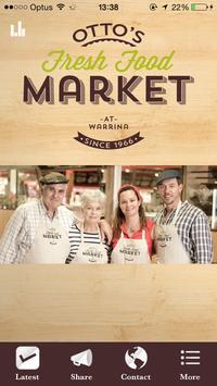 Otto's Fresh Food Market poster