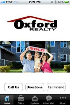 Oxford Realty poster
