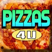 Pizza's 4 U icon