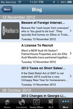 PalmerHouse Properties apk screenshot
