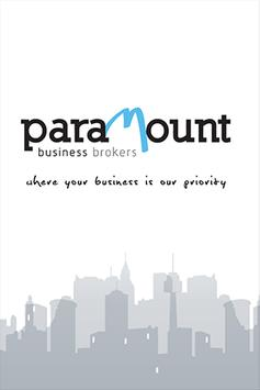 Paramount Business Brokers poster